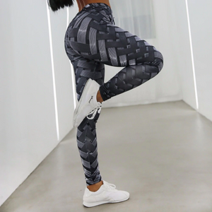 Iron Print Leggings - Polonium Co.