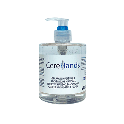 CereHands Gel Hydroalcoolique - 500ml - Cerepharma