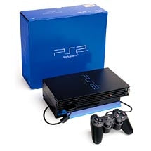 PS2 console (boxed)