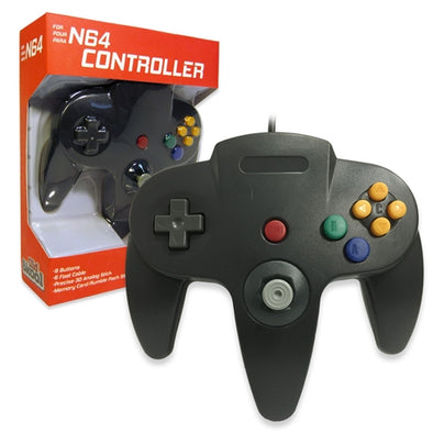 Old Skool N64 Controller (black)