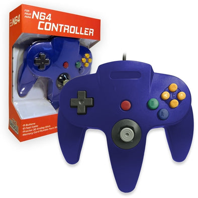 Old Skool N64 Controller (blue)