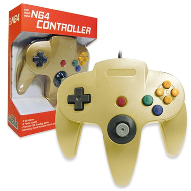 Old Skool N64 Controller (gold)