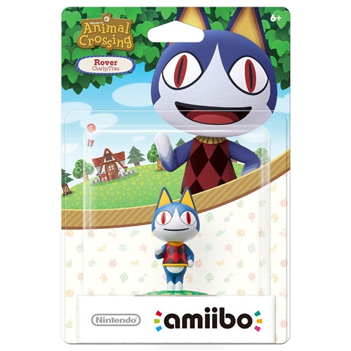 Animal Crossing Rover Amiibo