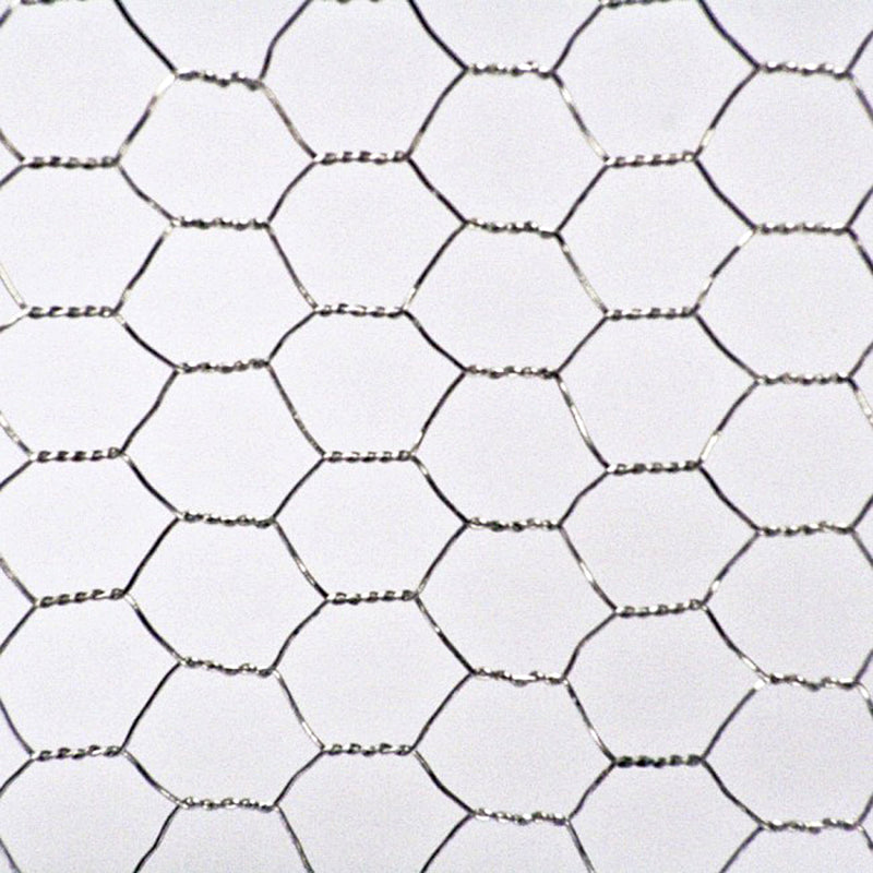 MainframeDirect  - galvanised wire net in use silver