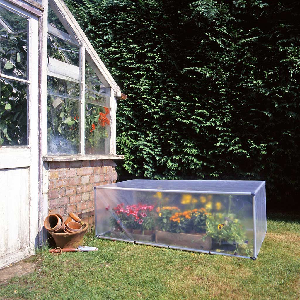 MainframeDirect - box cold frame - in use