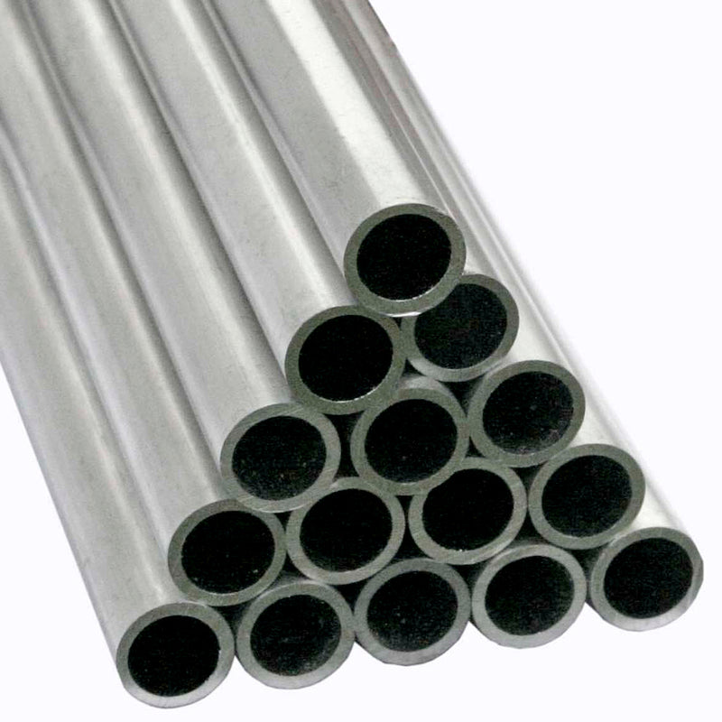 mainframe direct-1ft ALUMINIUM TUBE-pile in studio with white background