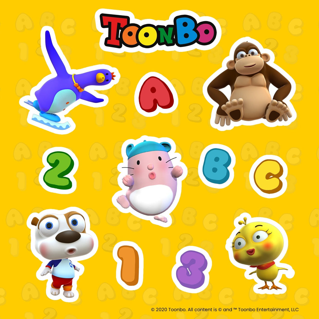 TOONBO Sticker Sheet