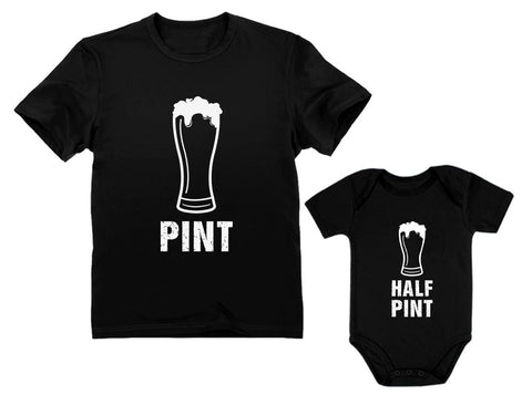 Buy the Pint & Half Pint Matching Father & Baby Set - Baby and You
