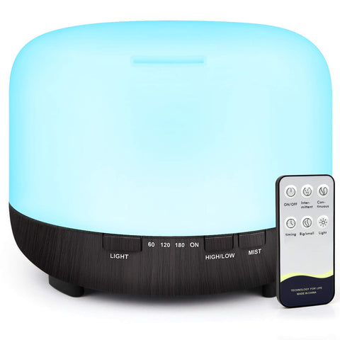Buy the Cool Essential Oil Diffuser With Remote - Baby and You