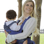 Buy the Blue Baby Front Wrap Sling Carrier - Baby and You