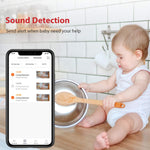 1080P Baby Monitor Camera - 2-Way Audio