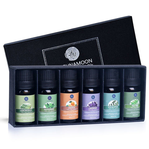 Buy the Essential Oil Diffuser 6 Pack Gift Set - Baby and You
