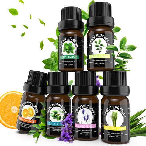 Buy the 6 Pack Organic Essential Oils for Skin - Baby and You