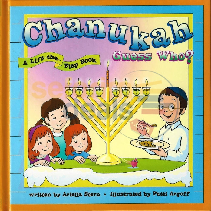 Chanukah Guess Who - A Lift The Flap Book