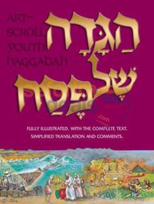 Haggadah: Illustrated Youth Edition - Hardcover