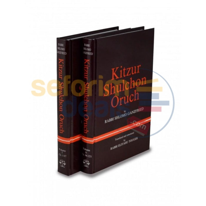 Kitzur Shulchan Oruch - 2 Vol. Set (English Only)