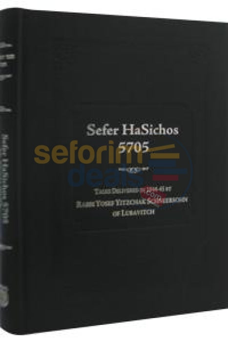 Sefer Hasichos 5705 (English)