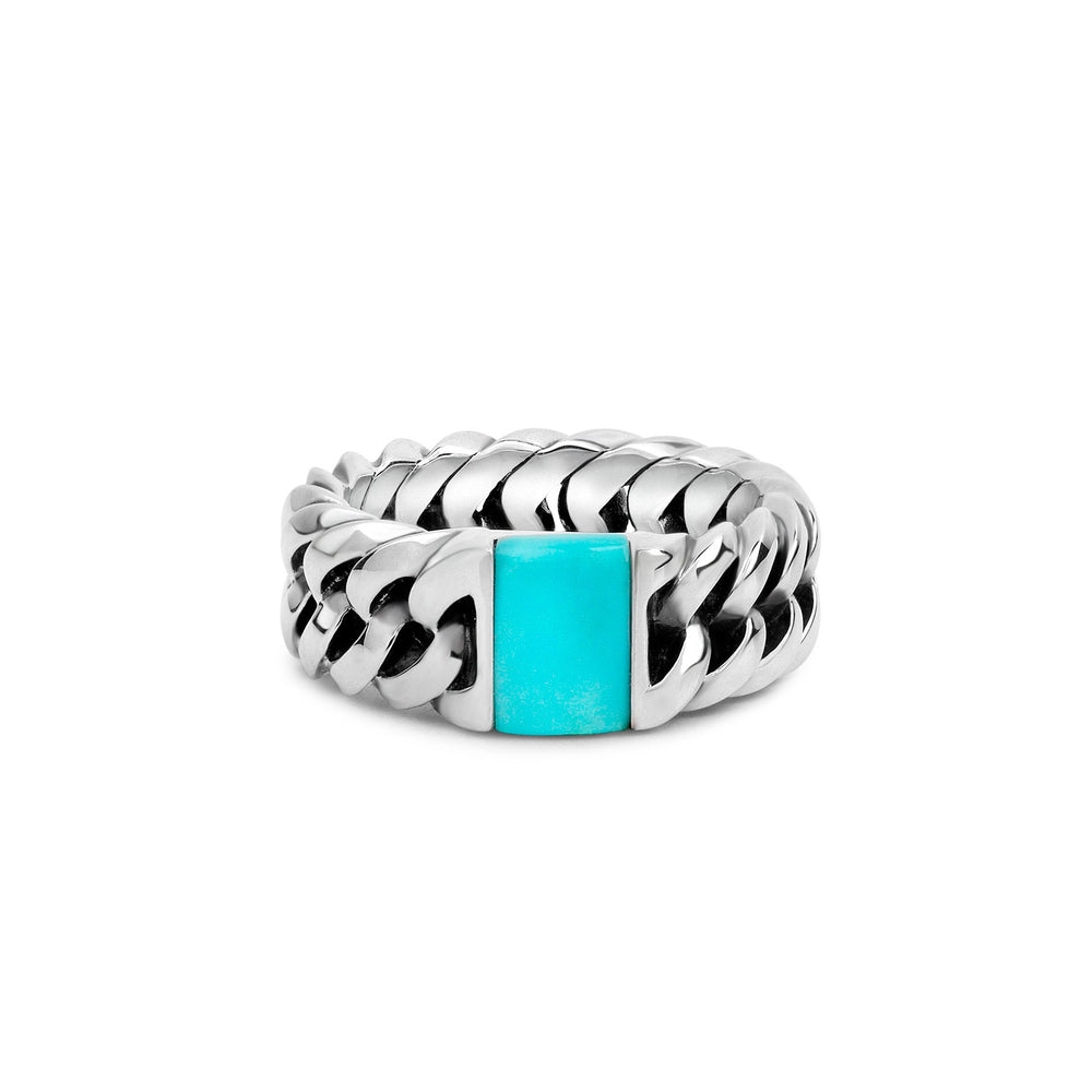 Chain Stone - Turquoise