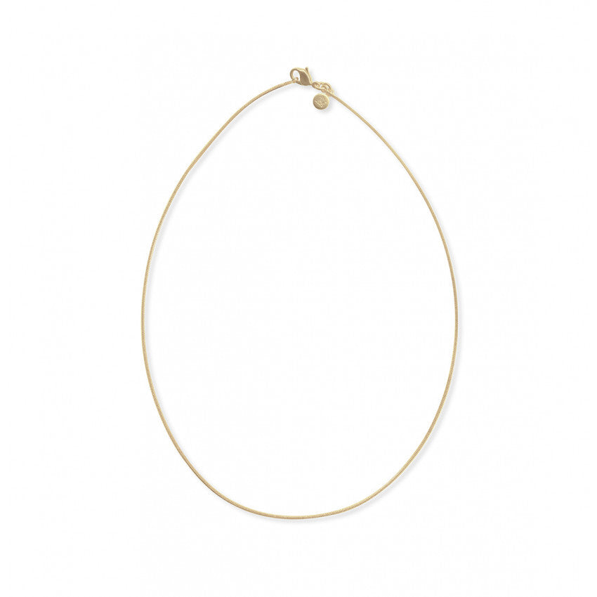 Diamond Chain, Yellow Gold - Plated