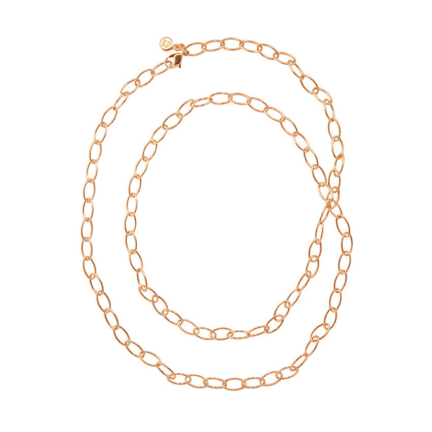 Anchor Chain, Yellow Gold-Plated