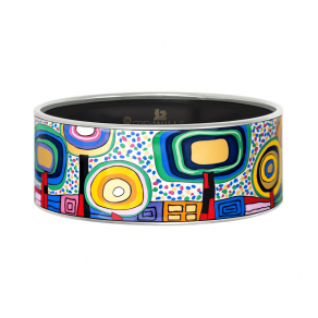Donna Bangle,  Hundertwasser,  Silent Flowers