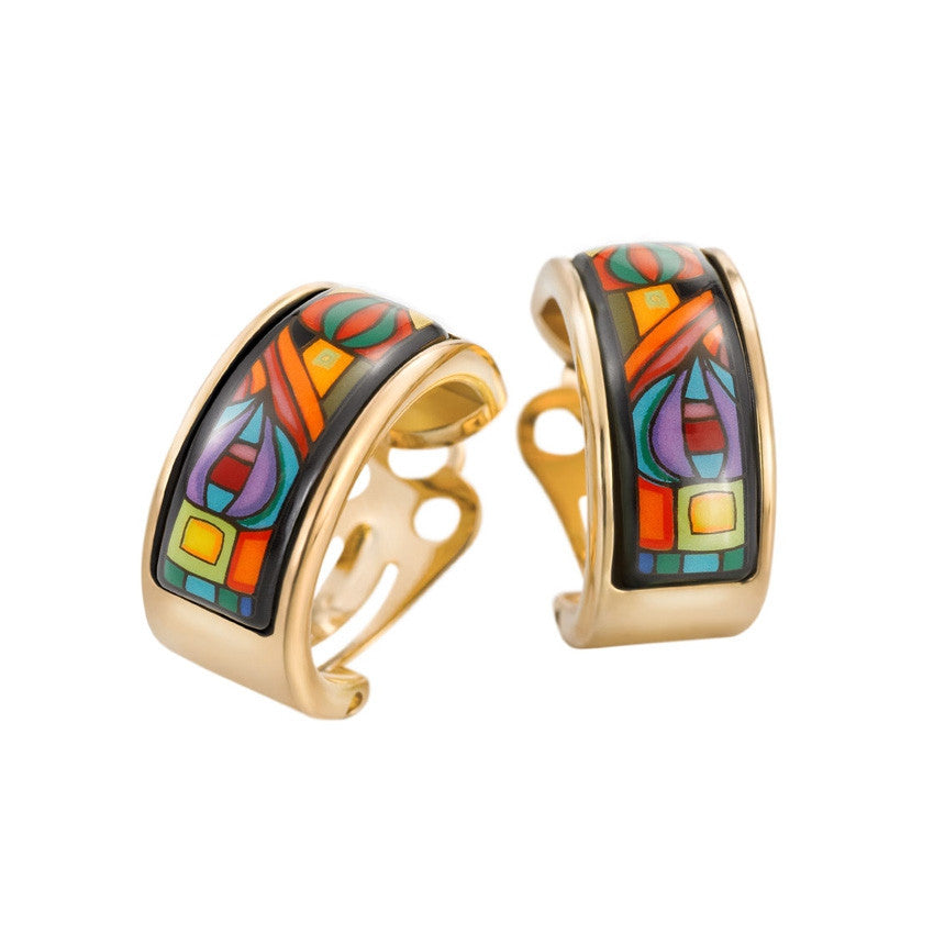 Earrings, Hundertwasser, 10002 Nights