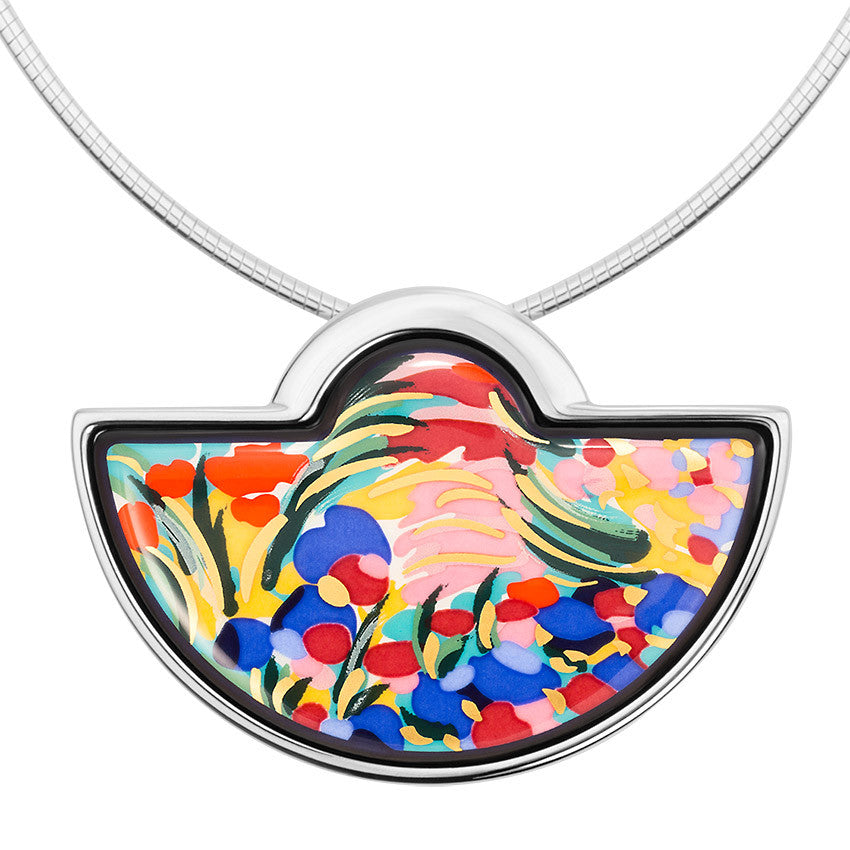 Half Moon Pendant, Claude Monet, Giverny
