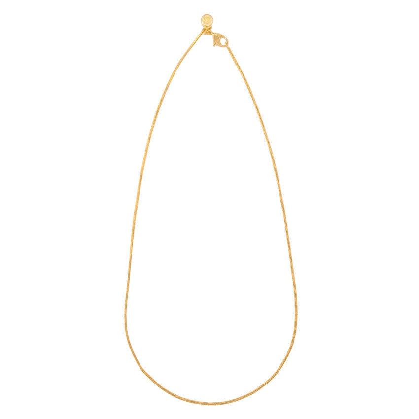 Snake Chain, Yellow Gold-Plated