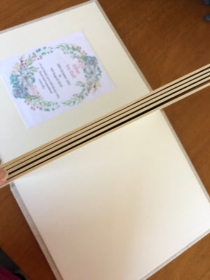Funeral Service Guestbook