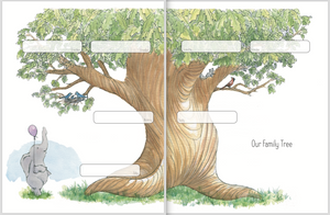 Baby Memorial Book: Family Tree Spread