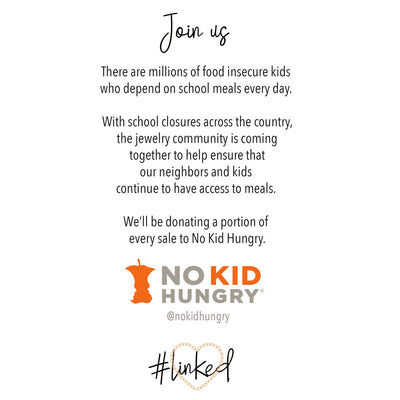 With Every Purchase, FUTURA Jewelry Will Donate to No Kid Hungry
