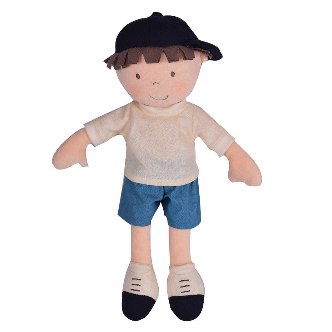 Jasper - Boy Doll in Blue shorts