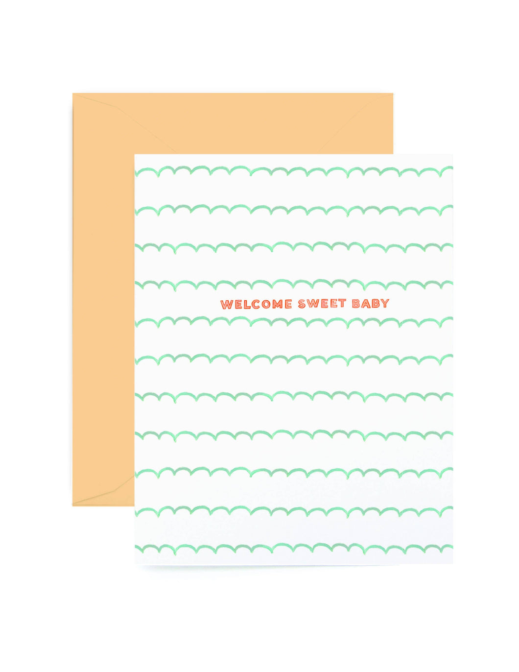 Baby Scallop Card