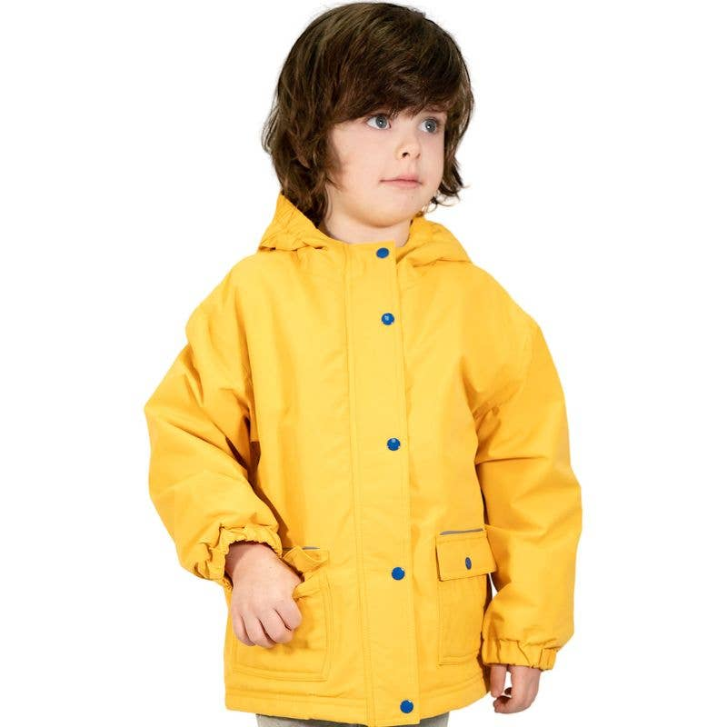 Yellow | Cozy-Dry Waterproof Jacket