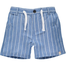 Load image into Gallery viewer, CREW shorts - Blue/White Stripe