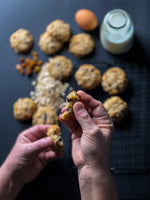 "Load image into Gallery viewer, Keto ""Oatmeal"" Cookies (12)"