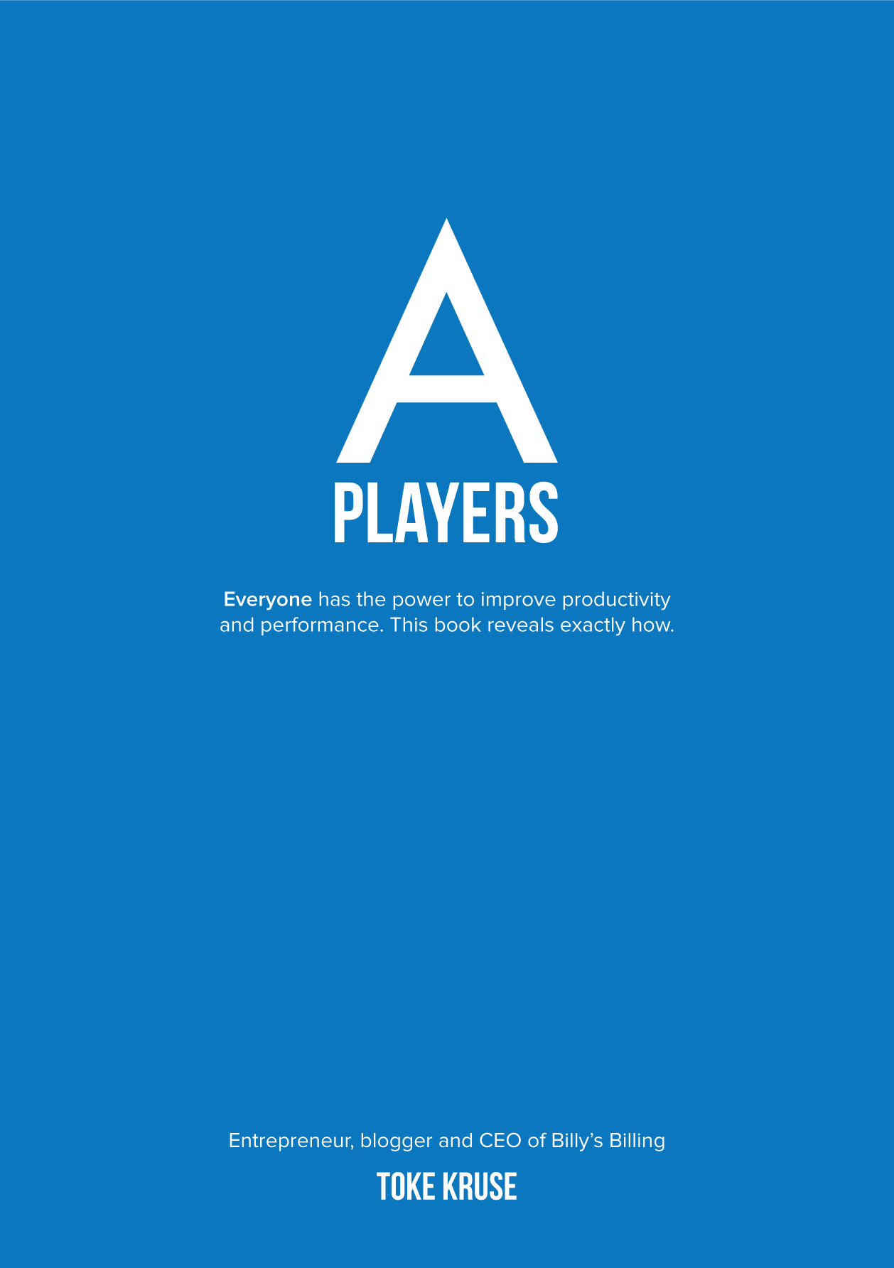 A PLAYERS - 3 Hardcopies + e-book