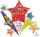 Birthday Stars Connext Balloon