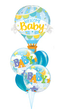Welcome Baby Baby Boy Balloons