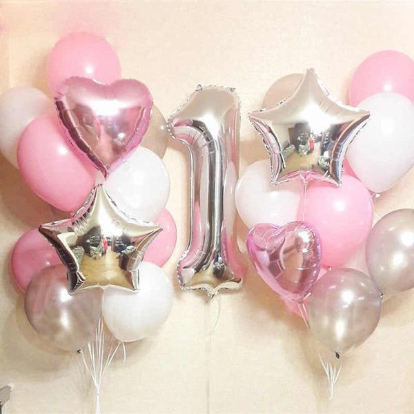 1st or Any Number Birthday Balloon Set