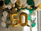 50th Golden Fabulous Balloon Package