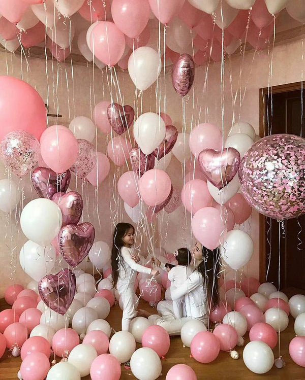 Extravagant Pink Party Balloon Decor