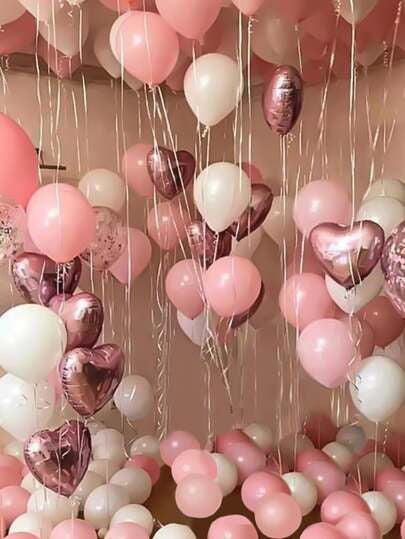 Pretty Pink Balloon Decoration