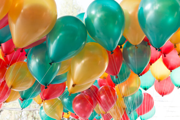 Mix Colour Balloons Party Decoration