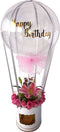 SPECIAL! Personalized Hot Air Inspired Flower Arrangement PRE-ORDER  1DAY