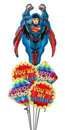 SuperMan You're My Super Hero Birthday Bouquet