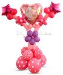 New Baby Girl Balloon Arrangement