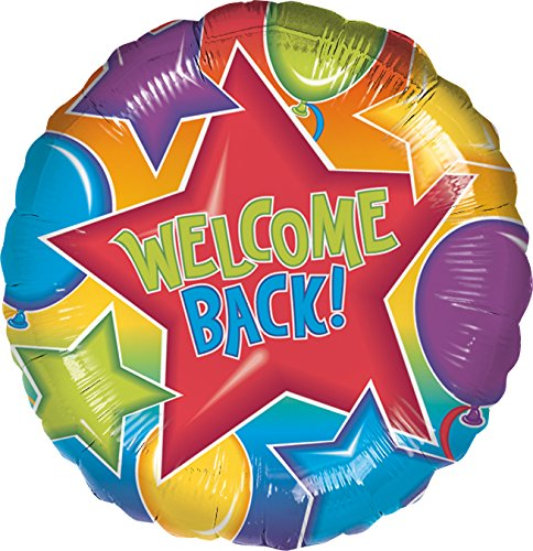 Festive Welcome Back Balloon