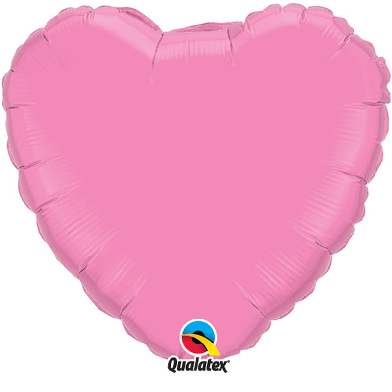 Heart shape Pearl Pink Foil balloon
