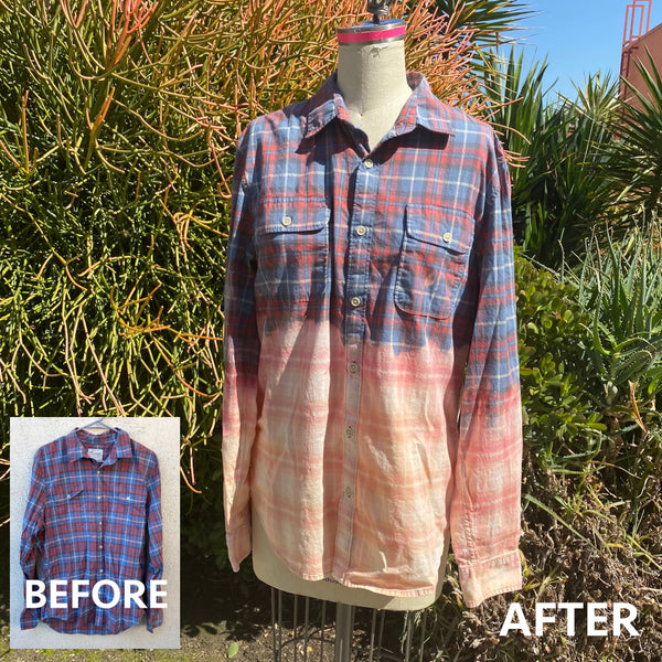 Give it a Reverse Fade - ReDye your Clothing